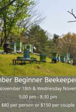 November Beginner Beekeeping Class