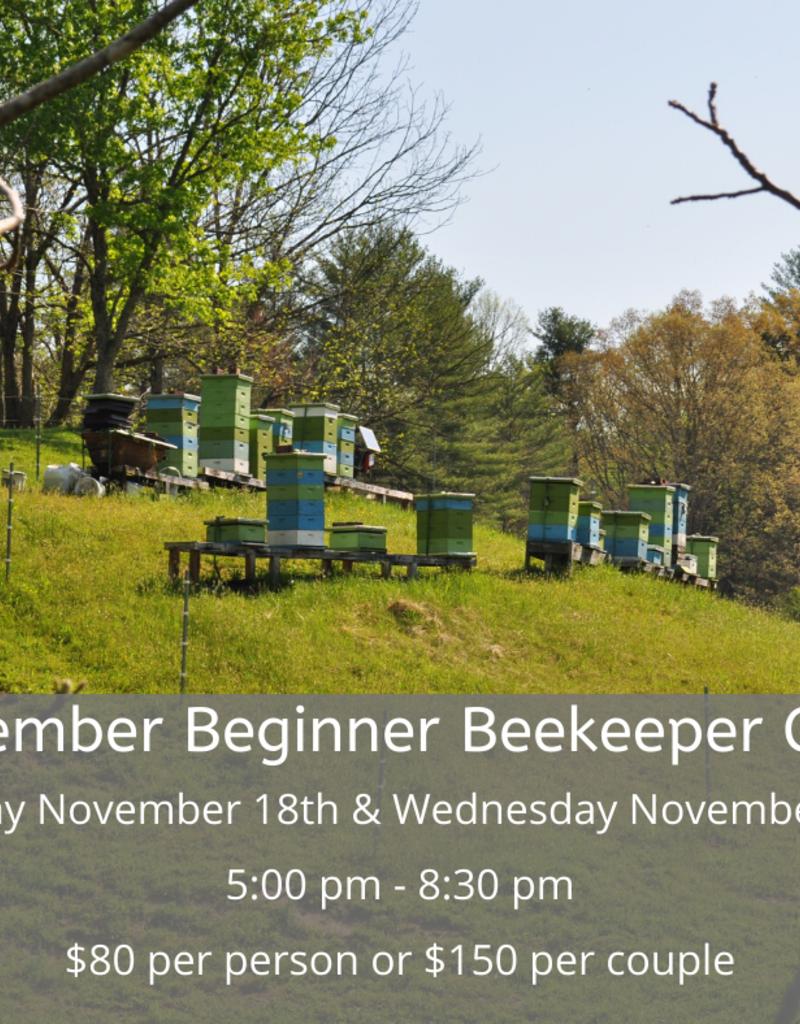 November Beginner Beekeeping Class