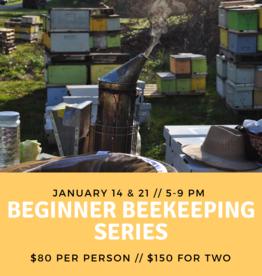 January 20 Beginner Beekeeping Class