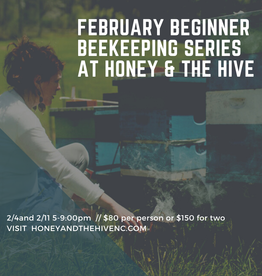 February Beginner Beekeeping Class - Couples