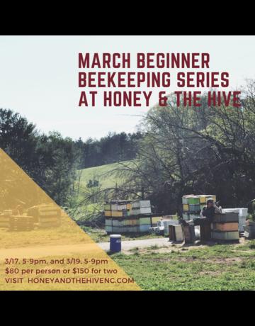 March Beginner Beekeeping Class - Couples