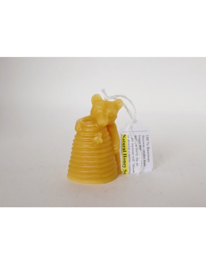 Bear with Skep Candle
