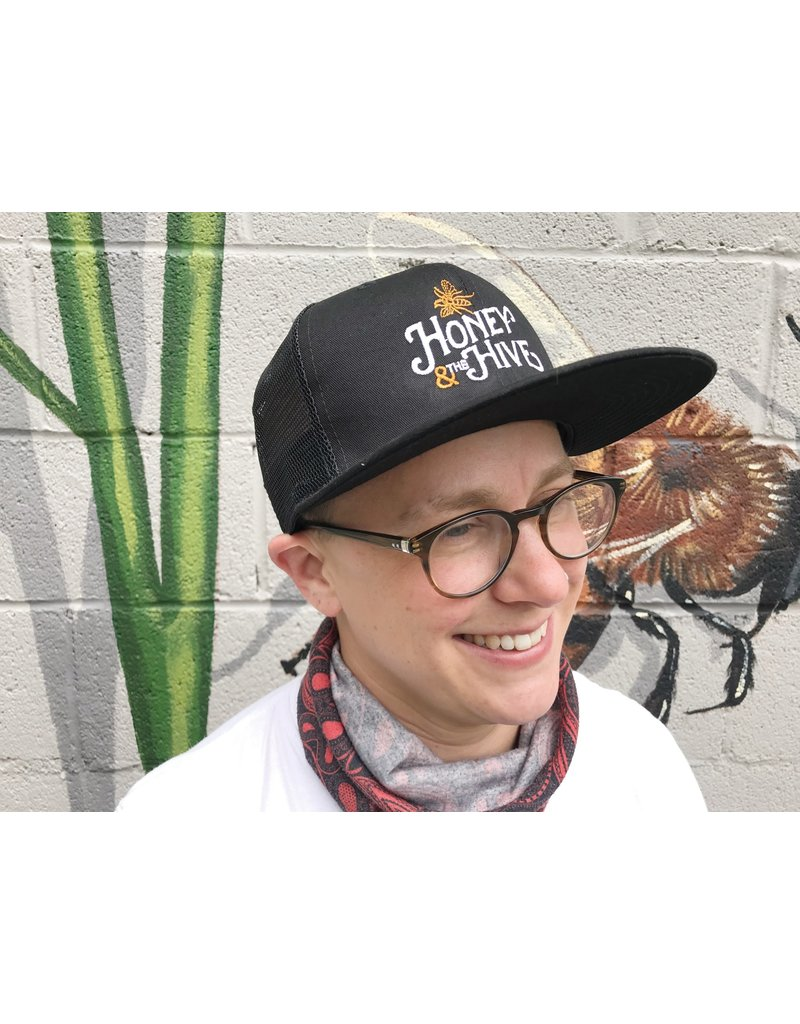 Honey & the Hive Honey & The Hive Flat Bill Hat