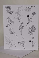 Botanical Color It In Card, Single