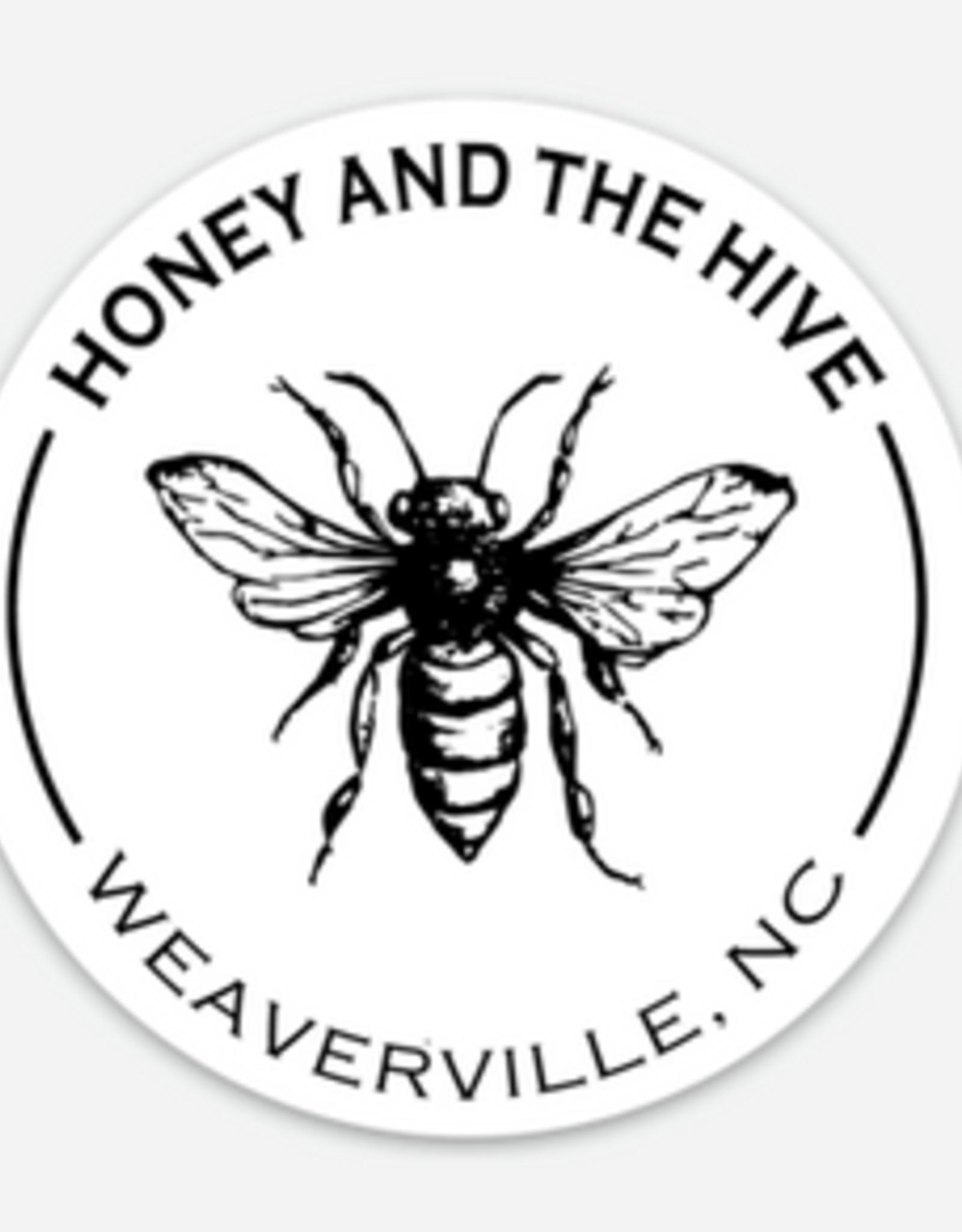 """3"""" Round Bee H+H Sticker"""