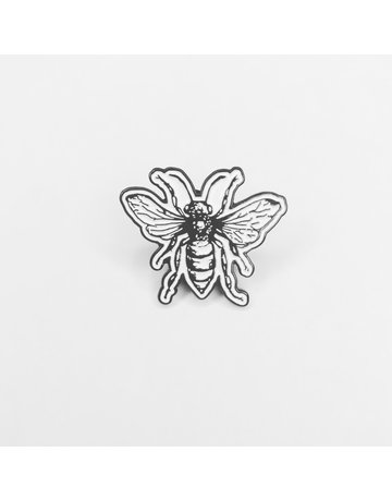 "Honey & the Hive 1"" Bee Logo Pin"