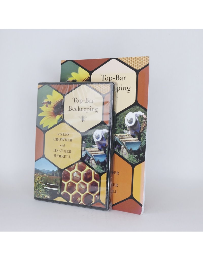 Top-Bar Beekeeping Book & DVD Set