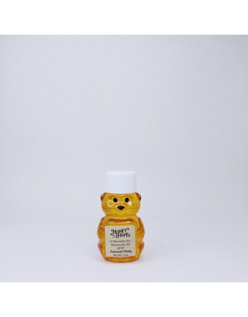 Honey & the Hive *Sourwood Honey Mini Bear, 2 oz.