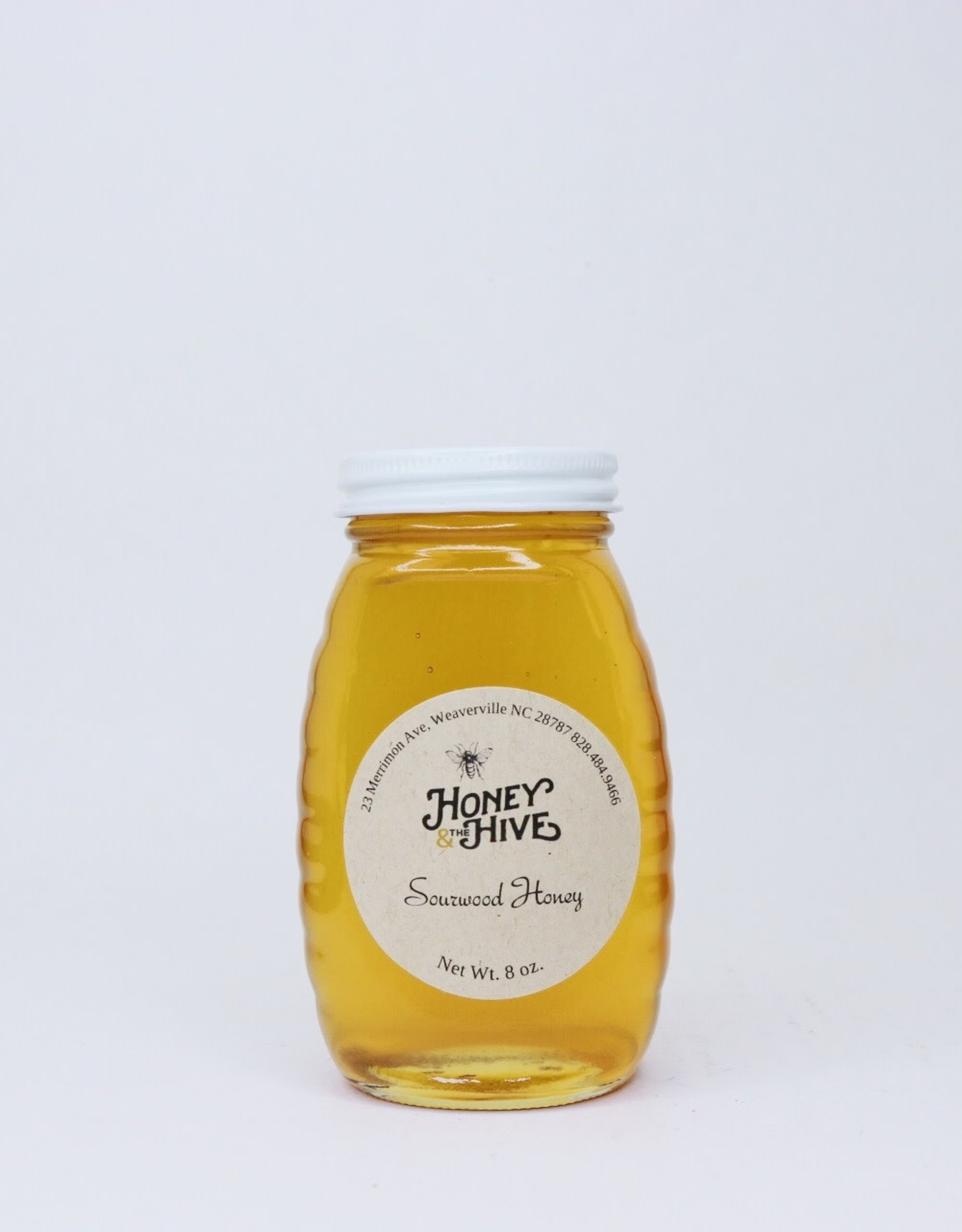 Honey & the Hive Sourwood Honey Queenline Jars