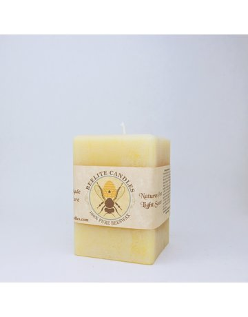 Square Pillar Candle 4 in.