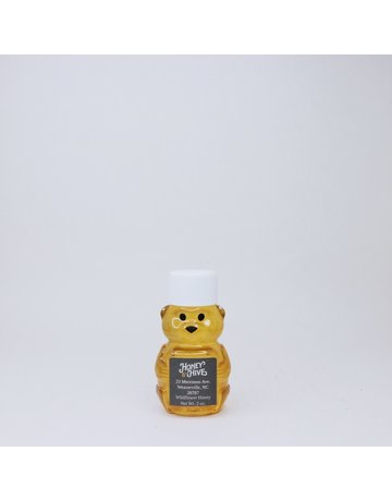 Honey & the Hive Wildflower Honey  2 oz Mini Bear