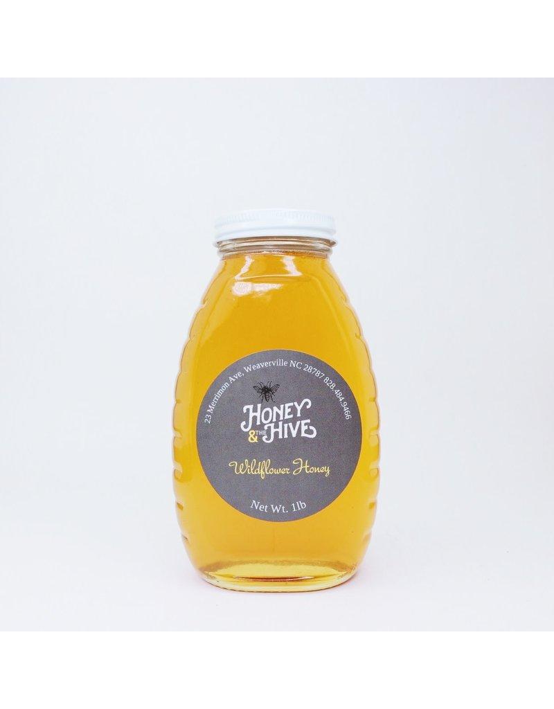 Honey & the Hive Wildflower Honey Queenline Jars