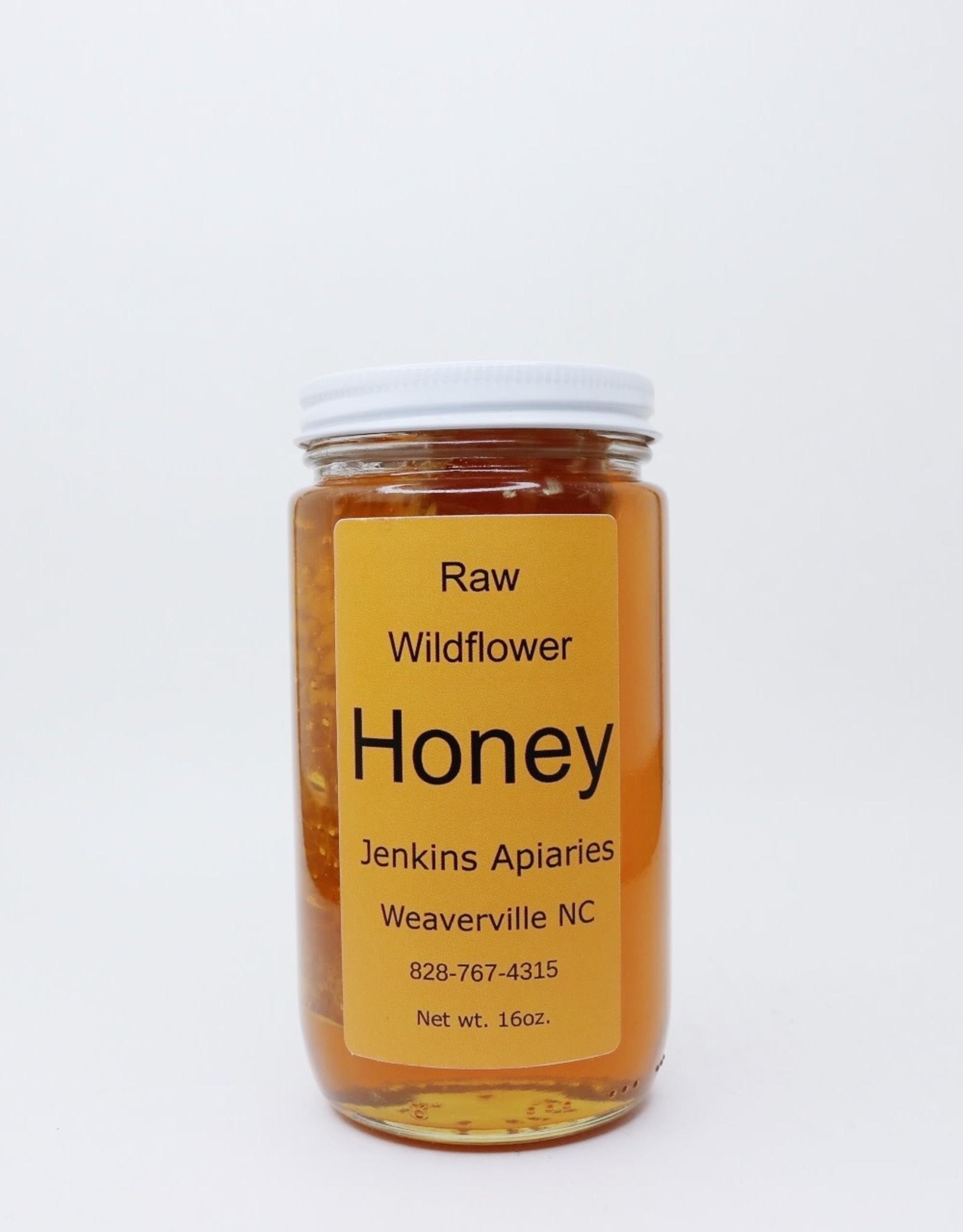Cut Comb Honey in Jar