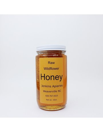 Cut Comb Honey in Jar