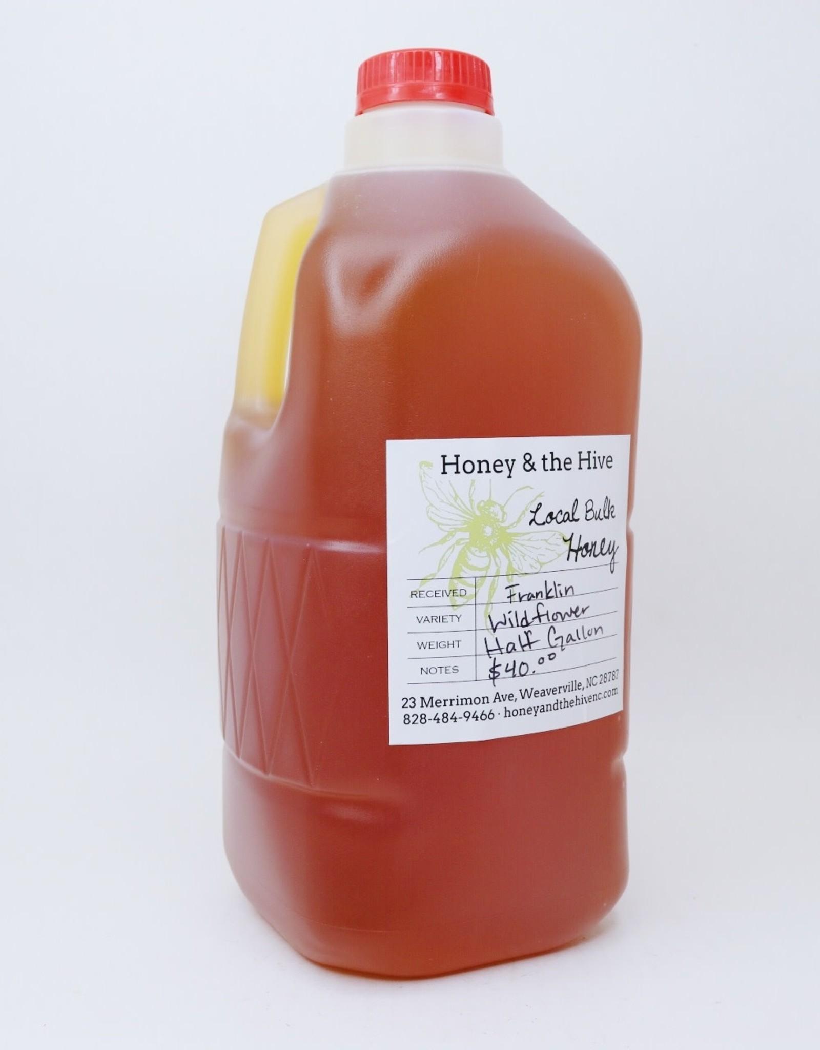 Honey & the Hive Bulk Honey 1/2 gallon, 6 lb