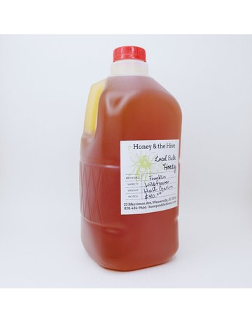 Honey & the Hive Wildflower Honey 1/2 gallon, 6 lb