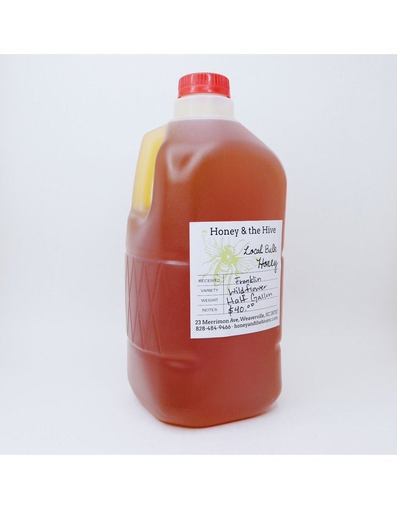 Honey & the Hive Wildflower Honey 1/2 gallon, 6 lb