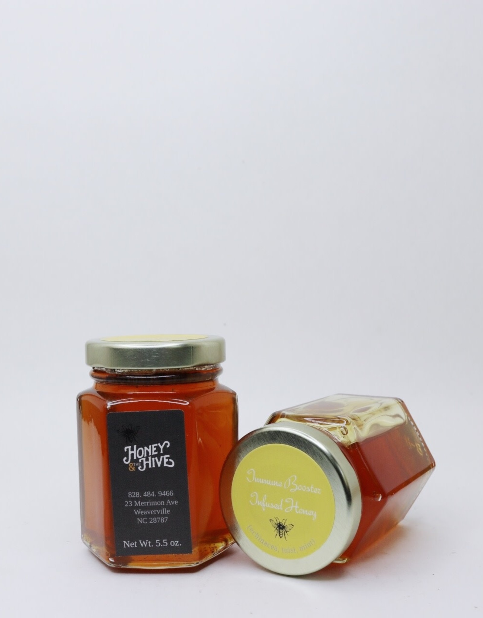 Honey & the Hive Immune Booster Infused Honey