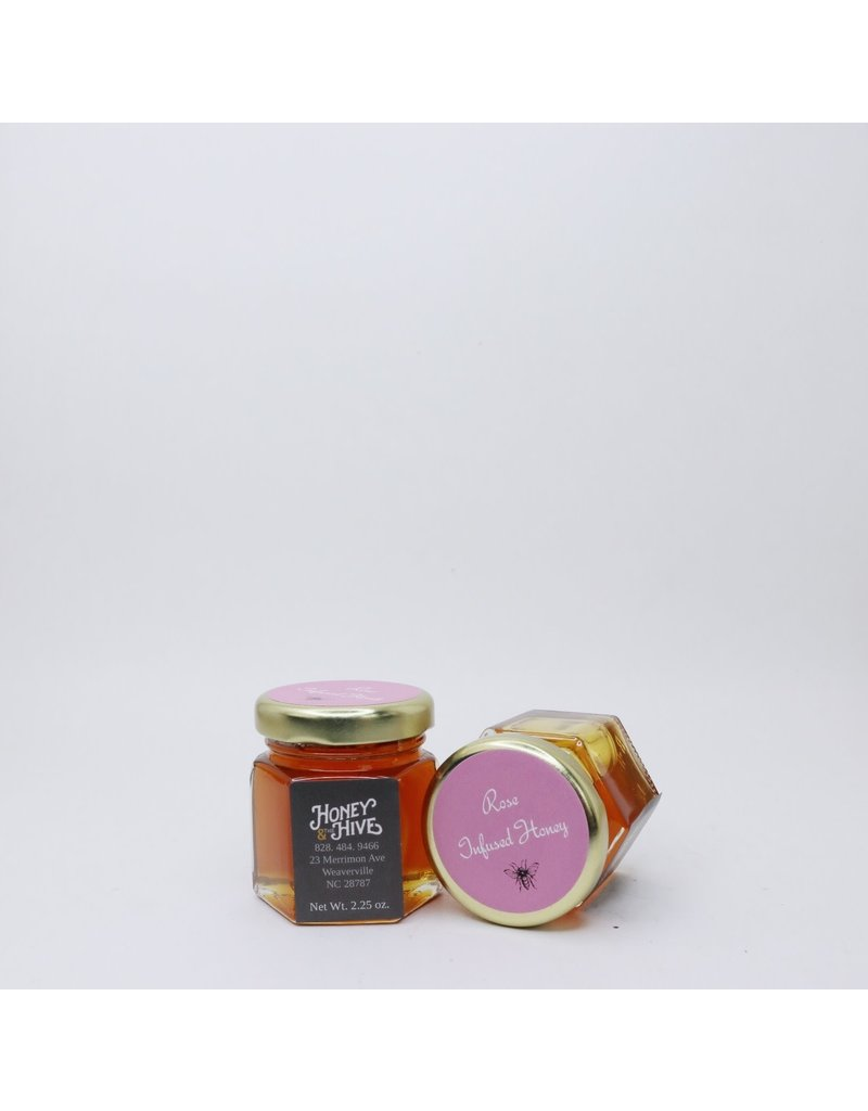 Honey & the Hive Rose Infused Honey