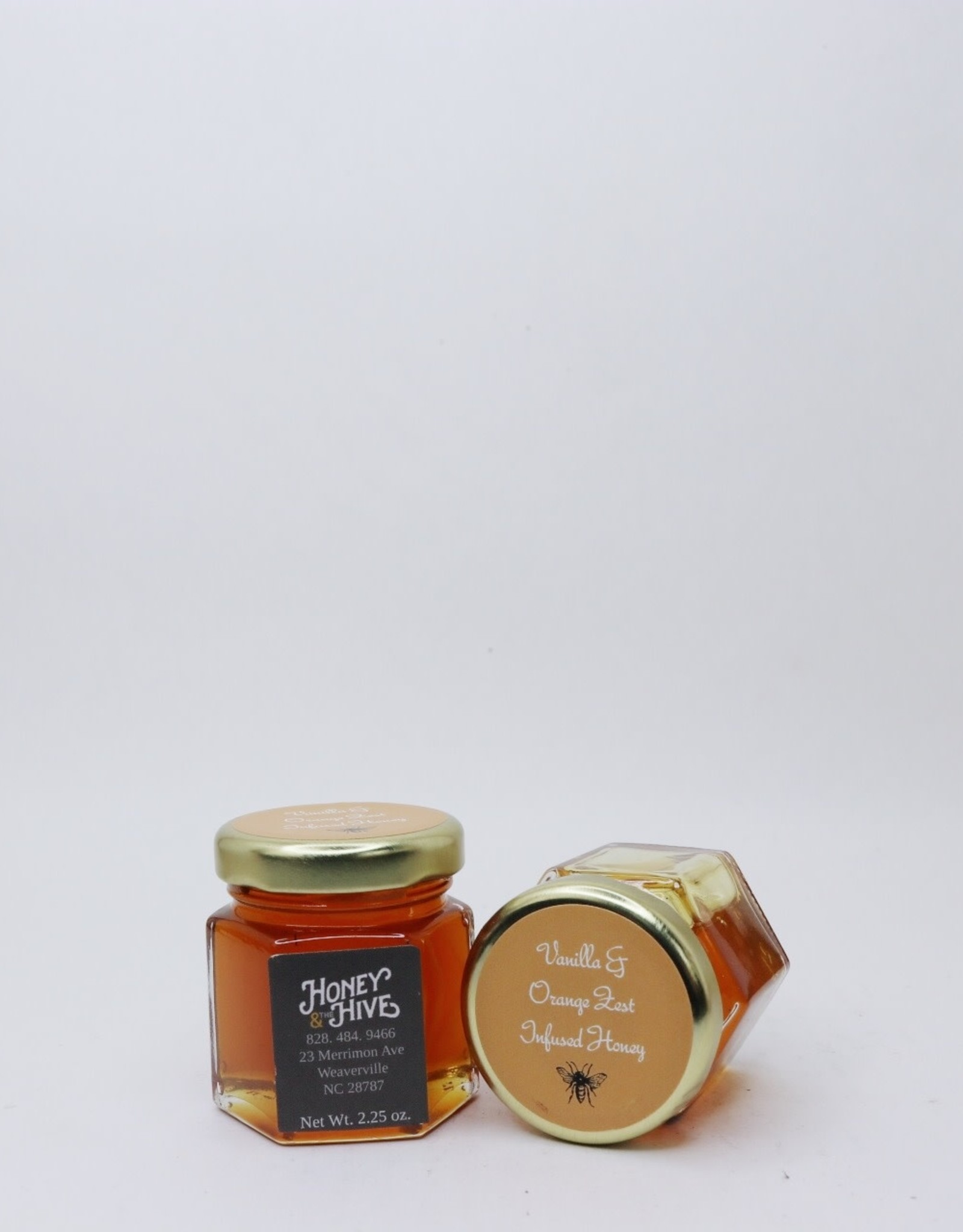 Honey & the Hive Vanilla & Orange Zest Infused Honey