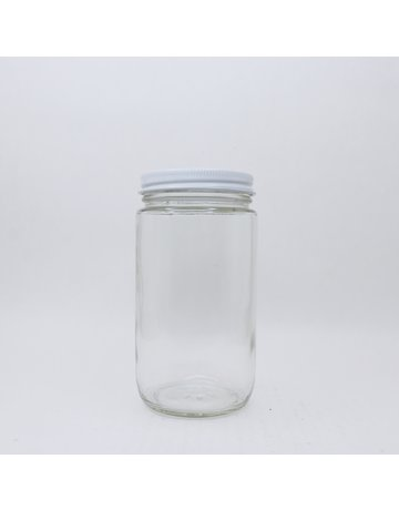 Round 1 lb. Comb Jar, case of 12