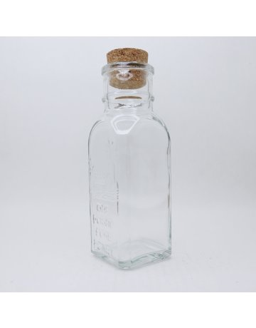 1 lb. Muth Jars w/ corks, case of 12