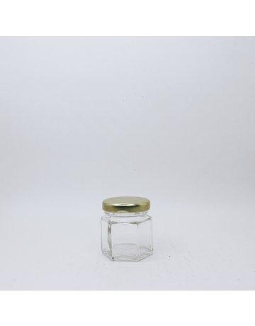45 mL Hexagon Jar
