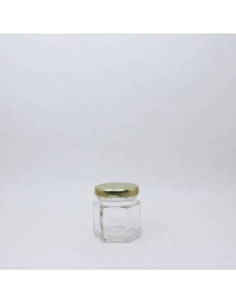 45 mL Hexagon Jar