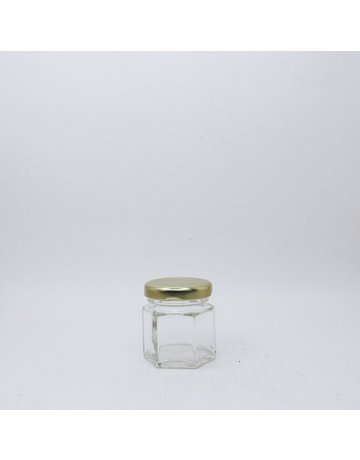 45 mL Hexagon Jars, case of 24