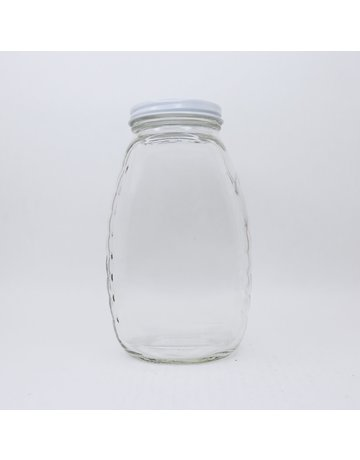 2 lb. Classic Queenline Jars, case of 12