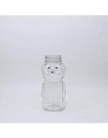 8 oz. Flat Front PET Bears (Case 285 CT)