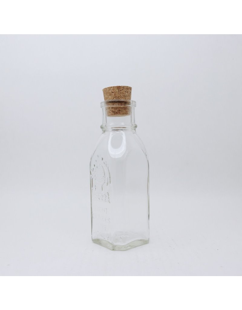 8 oz. Muth Jars w/ corks, case of 12
