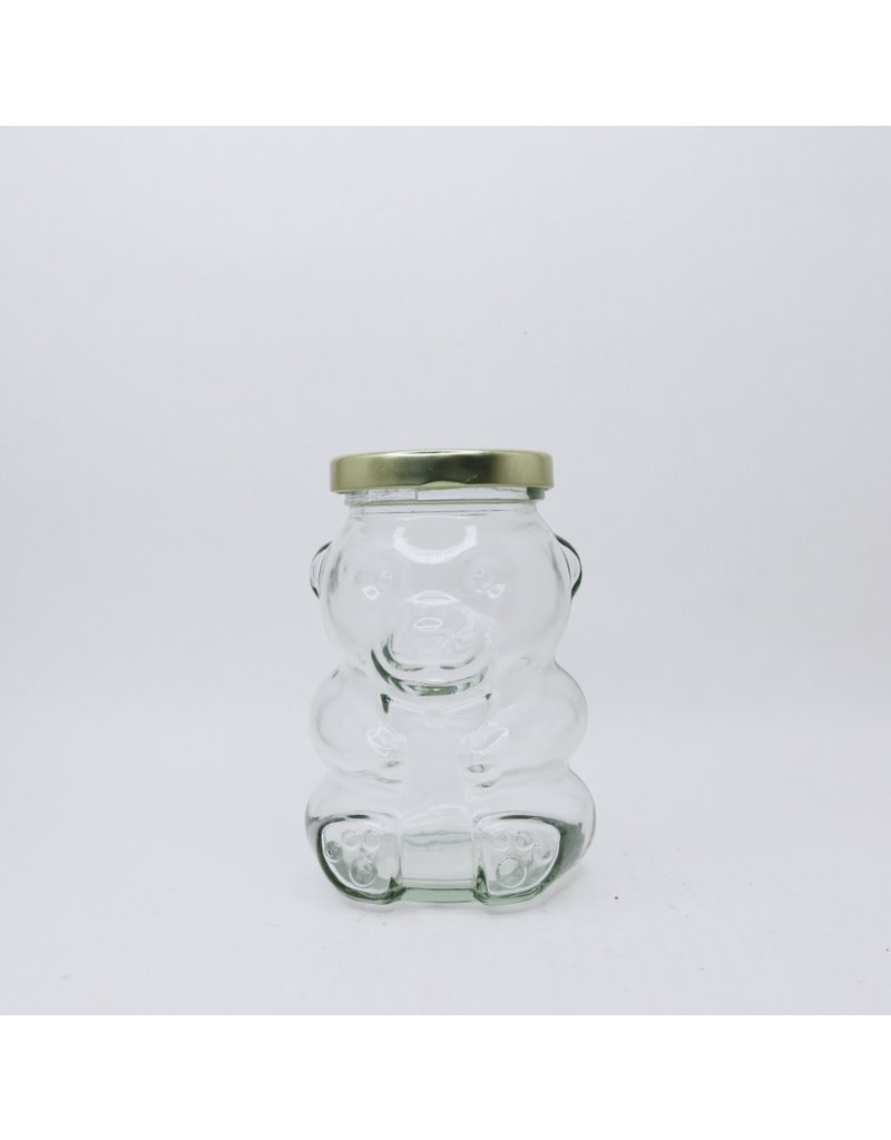 bailey bee supply Honey Bear 265 ml glass jar, single