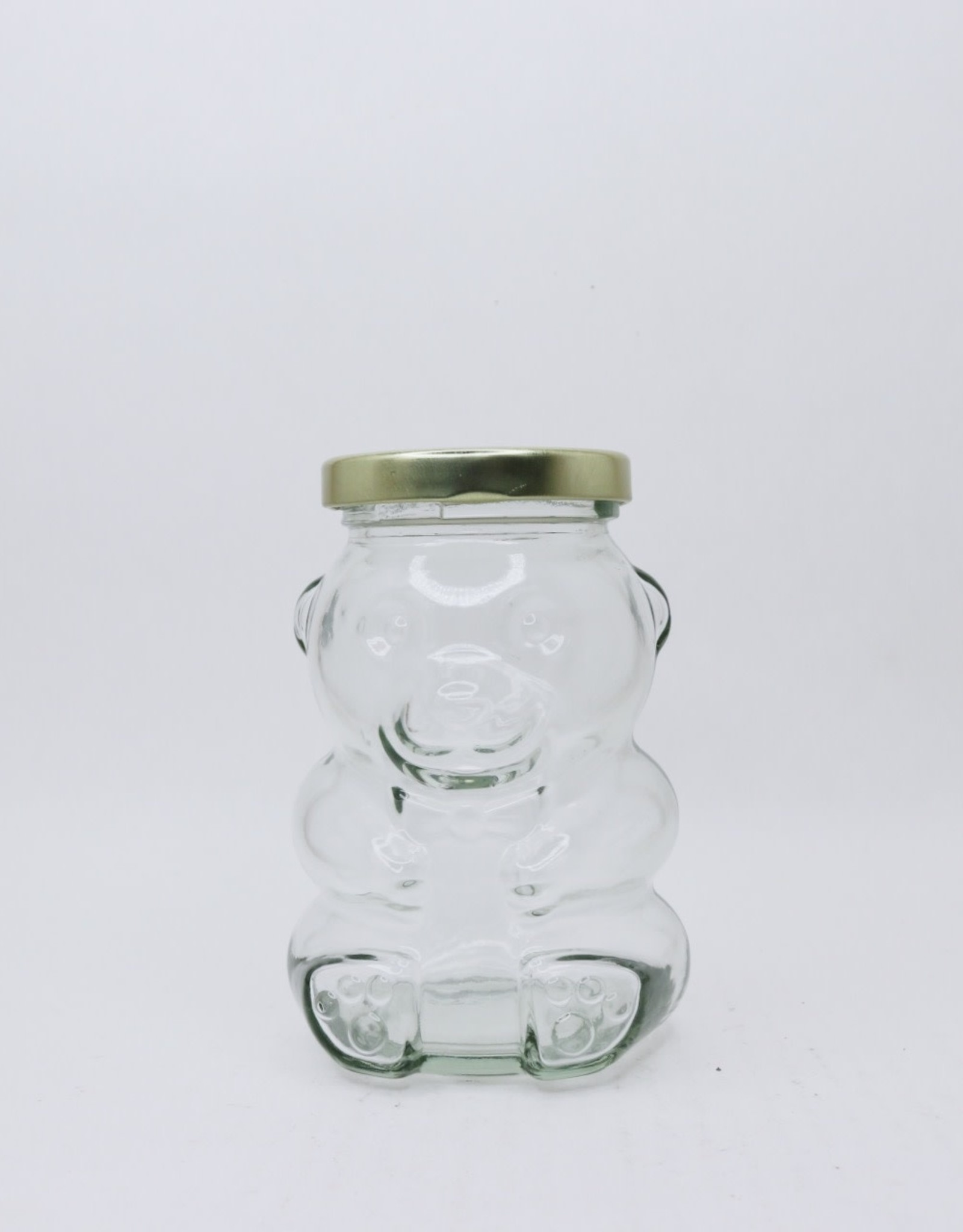 bailey bee supply Honey Bear 265 ml glass jar, case of 12