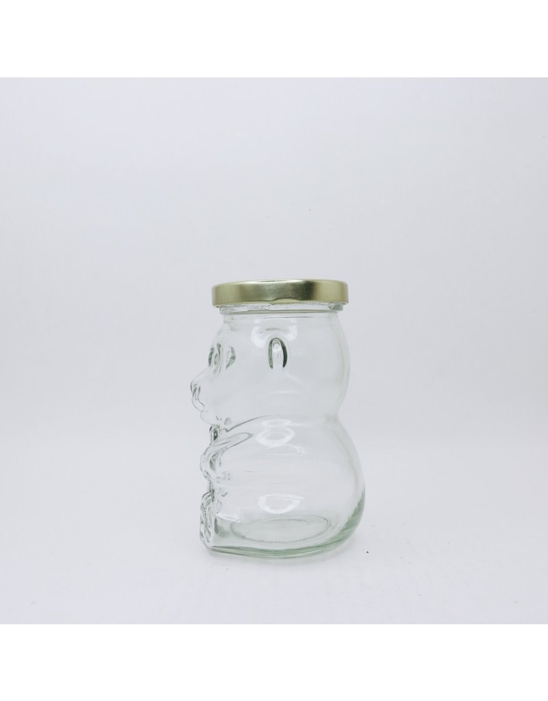 bailey bee supply Honey Bear 265 ml glass jar, case of 12