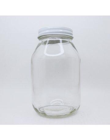Quart Jar w/ Lid, single