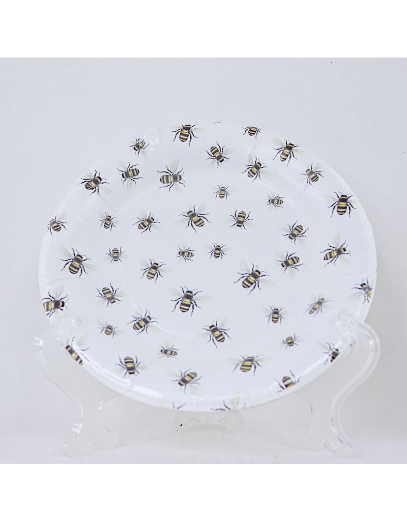Save the Bees Paper Dessert Plates