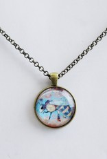 """Bee Necklace 24"""""""