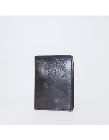 Leather Bee Wallet - Small Bifold
