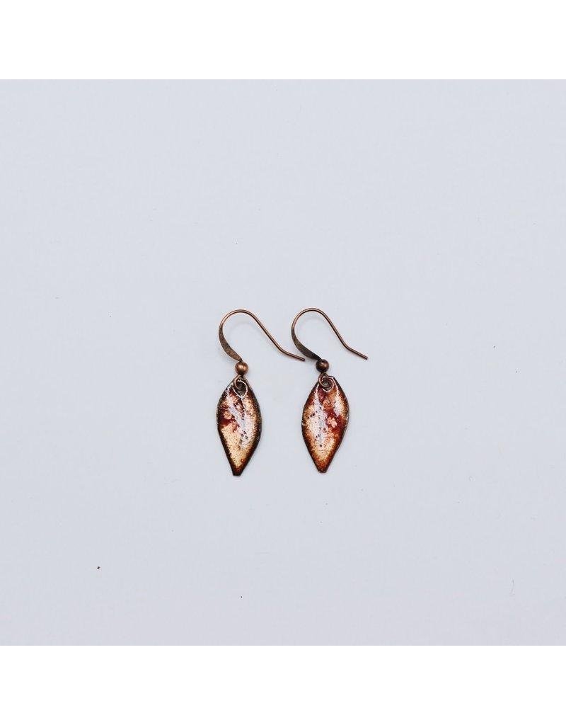Sourwood Leaf Earrings
