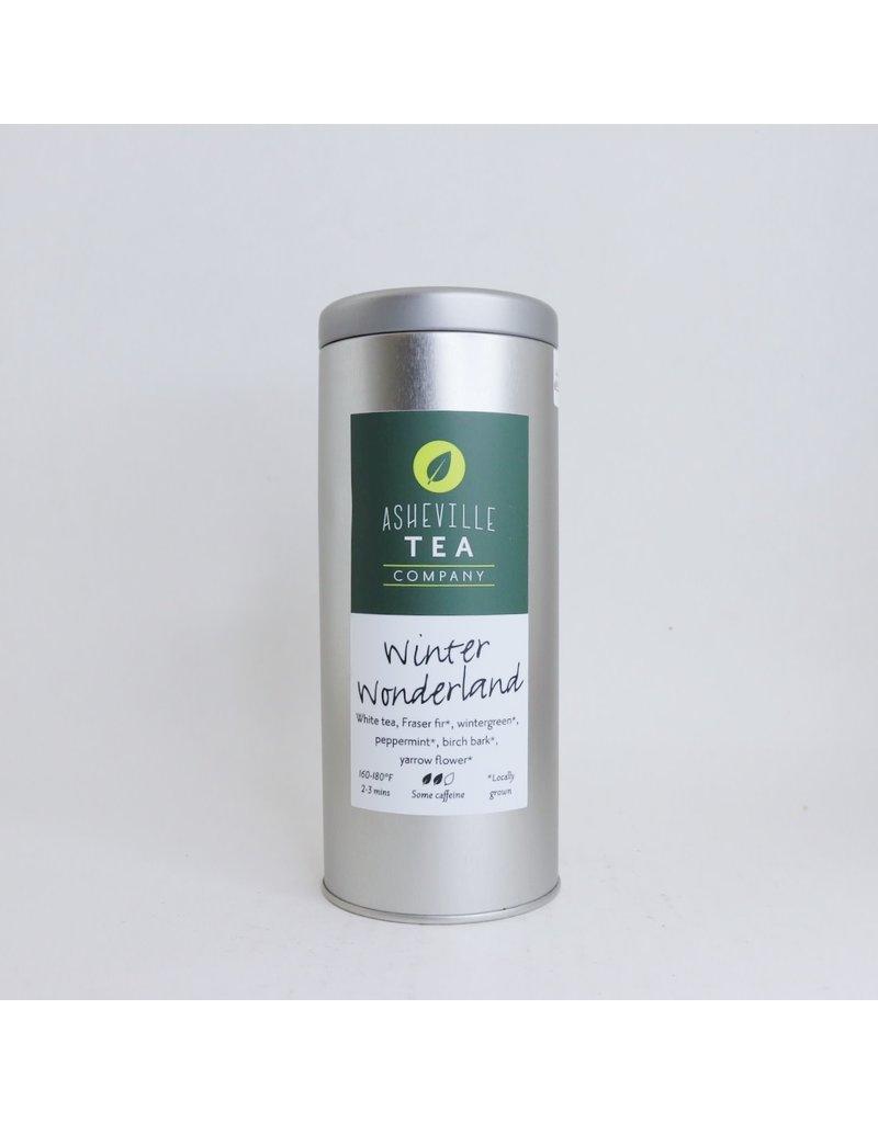 Asheville Tea Company Tea Bag Tin Winter Wonderland