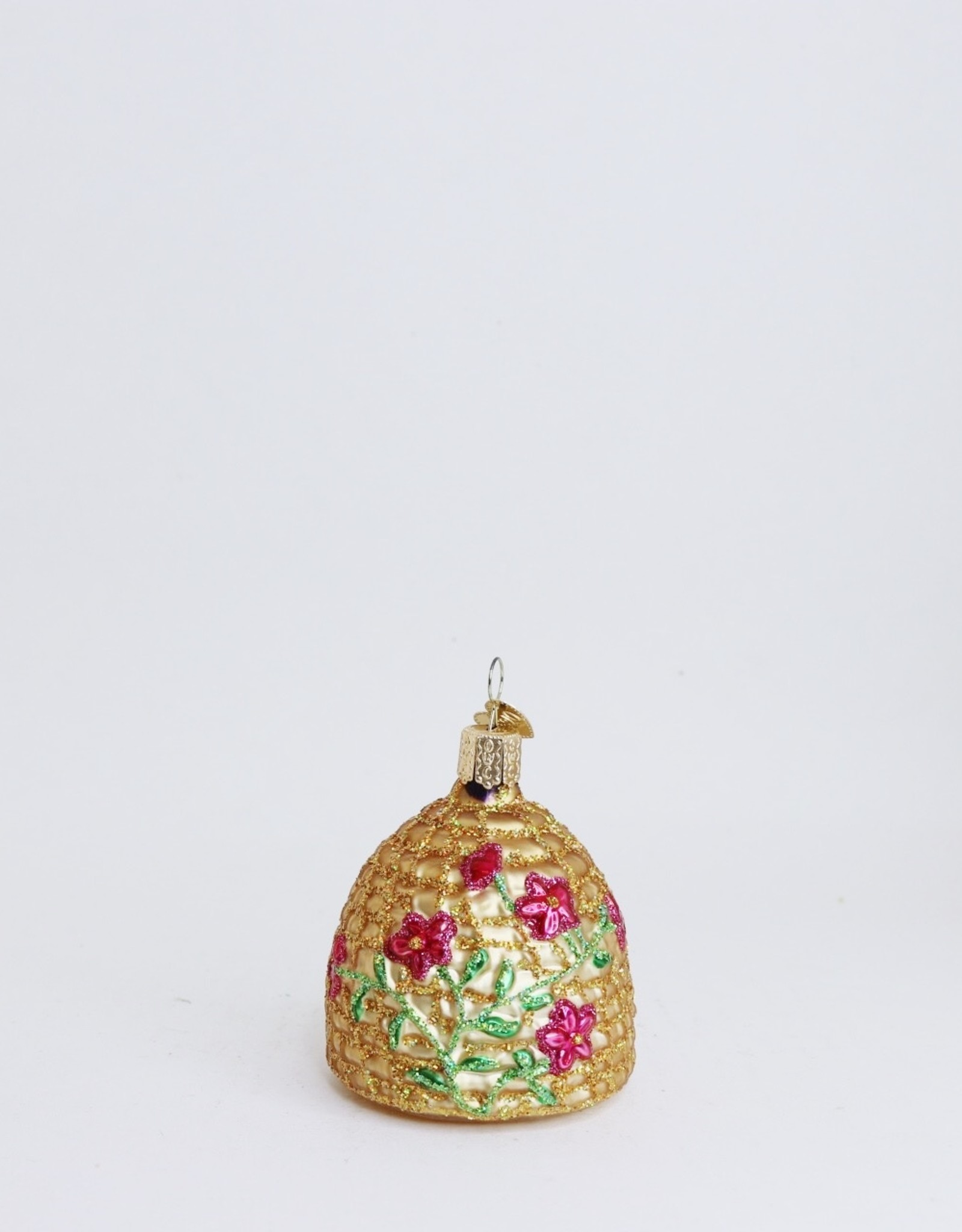 Gold Skep Ornament