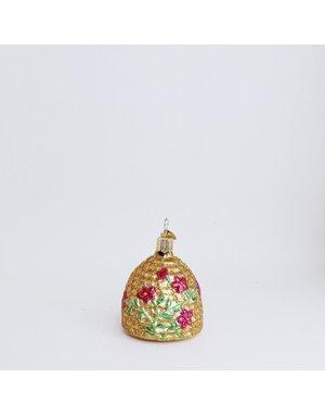 Gold Skep Ornament