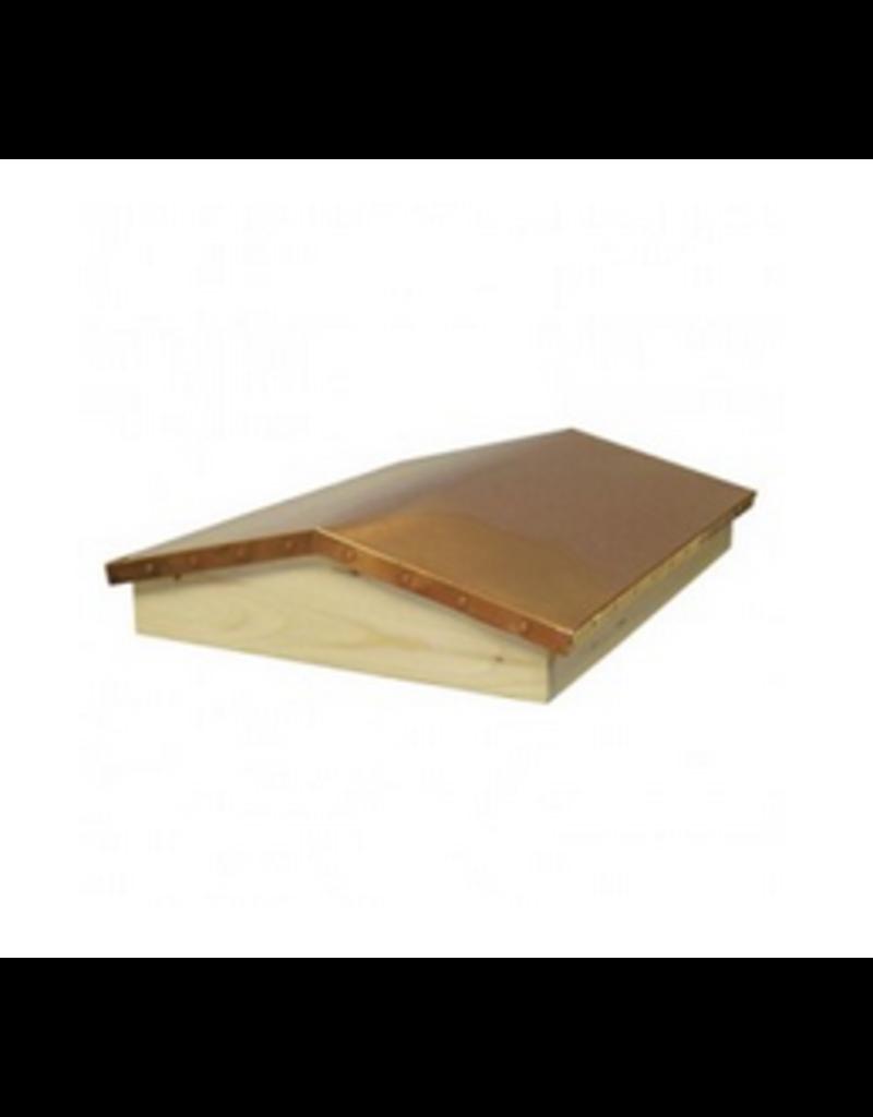 8-Frame  Copper Garden Hivery Top