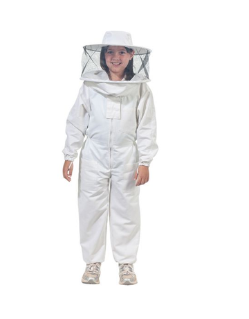 Kids Full Suit, w/ Round Veil, 4XS