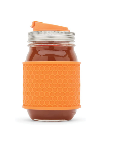Silicone Sleeve for Mason Jar - 2 Pack
