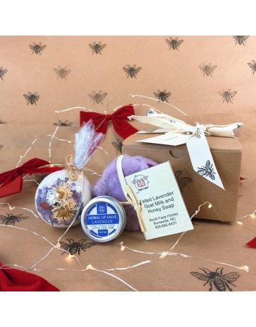 Bath & Beauty Gift Box - Lavender