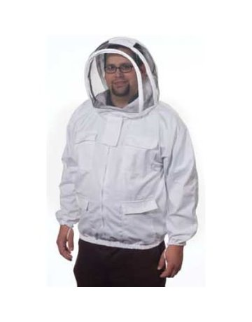 Cotton Jacket w/ Fencing Veil