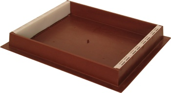 10-Frame Brown Plastic Hive Top Feeder