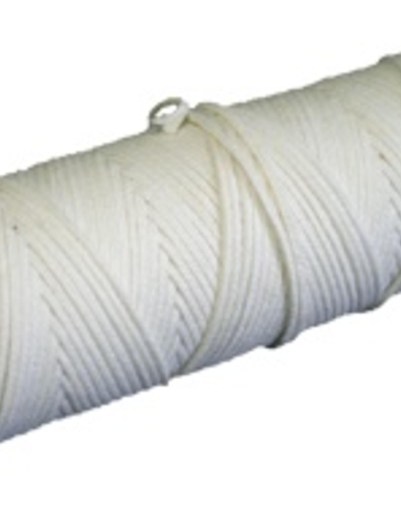 Wick, 2/0 square braid wick / roll 100%cotton